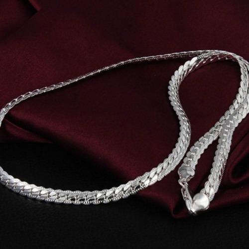 Edelstahl Herren Mode Halskette Panzerkette-Kette Königskette Schlangenkette