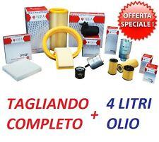 KIT FILTRI TAGLIANDO + OLIO 5W40 RENAULT CLIO III 1.2 BENZINA DAL 2005 AL 2012