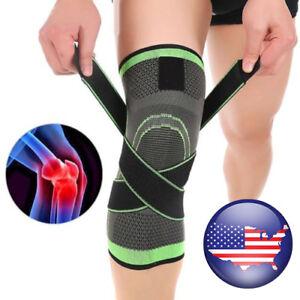 3D-Weaving-Sport-Pressurization-Knee-Pad-Support-Brace-Injury-Pressure-Protect