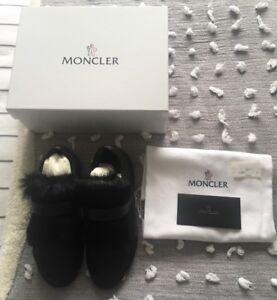 Trim With Black Ladies 'Victoire' Moncler Trenere 6 Størrelse Fur Bnwt qcPARx6w