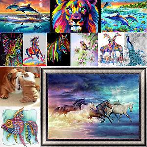 5D-DIY-Diamond-Painting-Animal-Embroidery-Cross-Craft-Stitch-Kit-Home-Wall-Decor