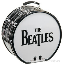 The Beatles Drum Shaped Tin Lunch Box Metal Collectible - 8x8