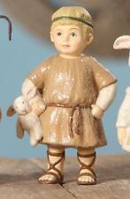 Bethany Lowe The Christmas Pageant Nativity Figure Shepherd with Stuffed Animal