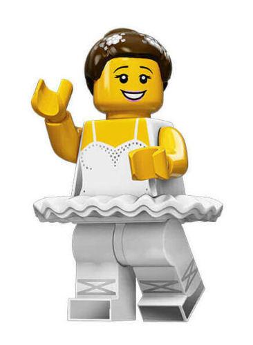 New and Mint Retired HTF LEGO 71011 Series 15 Minifigure Ballerina