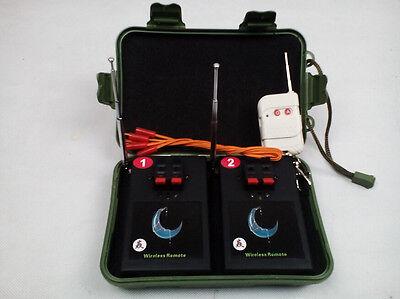 Fireworks Firing system Radio fire 2 Cues switch Wedding Remote Safety Igniter