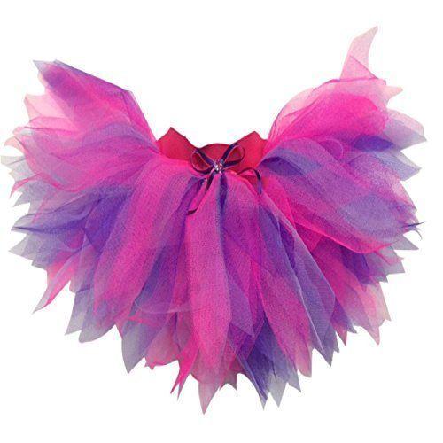 Neon Pink Purple Lilac Tutu Skirt 80/'s Fancy Dress I LOVE 80S HEN PARTY FUN RUN