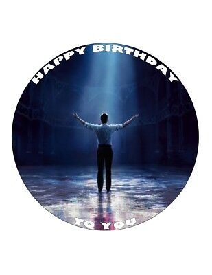 """7.5/"""" 19cm GREATEST SHOWMAN 2 PERSONALISED WAFER//FONDANT PAPER CAKE TOPPER"""