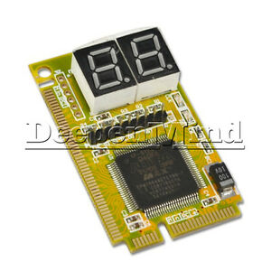 Mini 3 in1 PC Laptop Analyzer Tester PCI PCI-E LPC Diagnostic Post Test Card