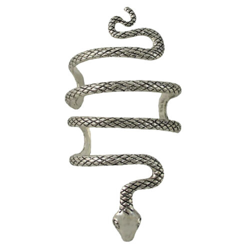 1 Stk Silber Schlange Stil Armreif Armband Frauen Armschmuck Geschenk