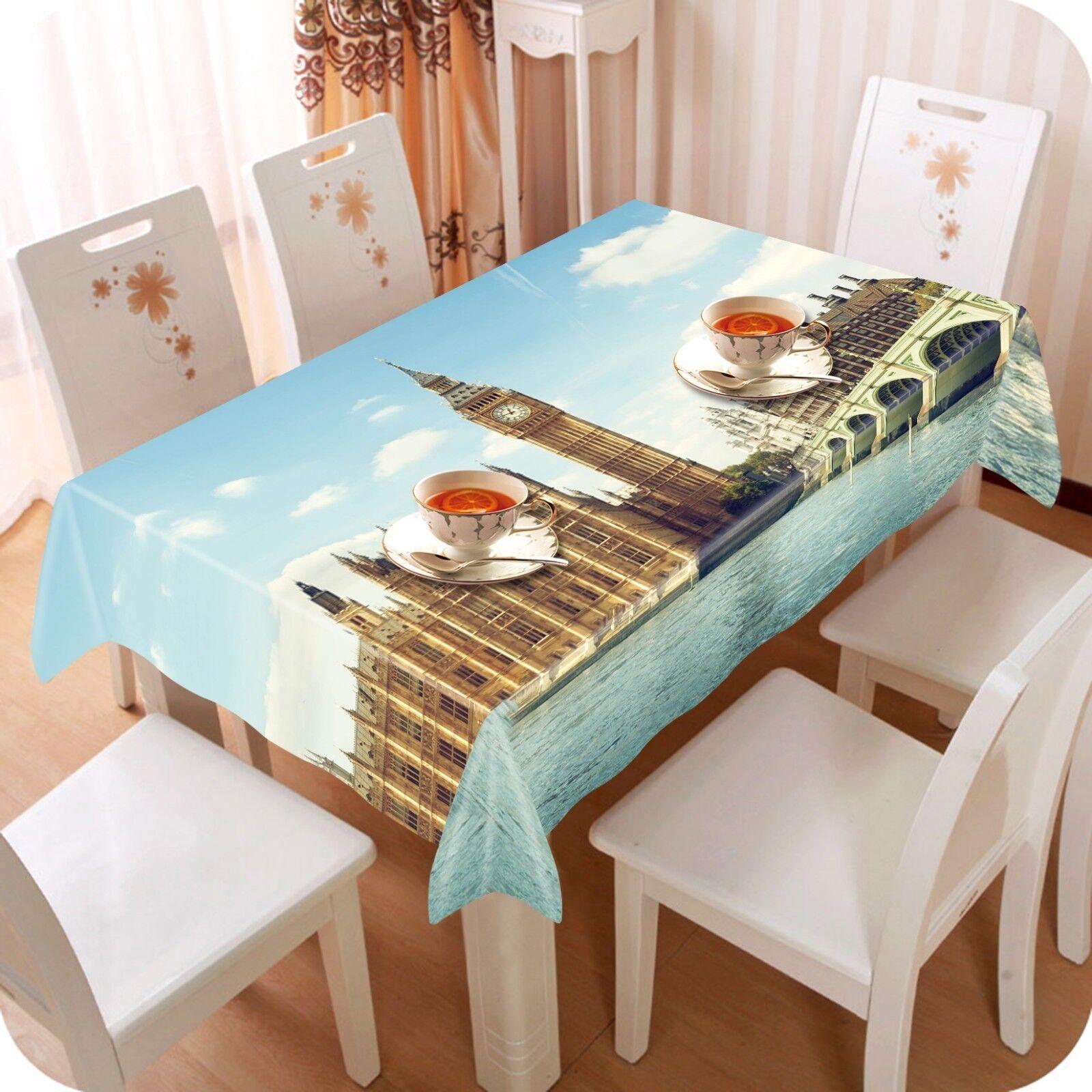 3D Paris City 055 Tablecloth Table Table Table Cover Cloth Birthday Party Event AJ Lemon f21993