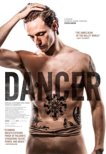 "Wall Art Decor Sergei Polunin Dancer Movie Poster 18x12 36x24 40x27/"""