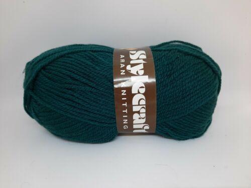 Stylecraft aran knitting