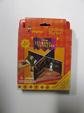 The Hunchback of NotreDame 3-D mini play set #7353 Rare Toy(collectible item)