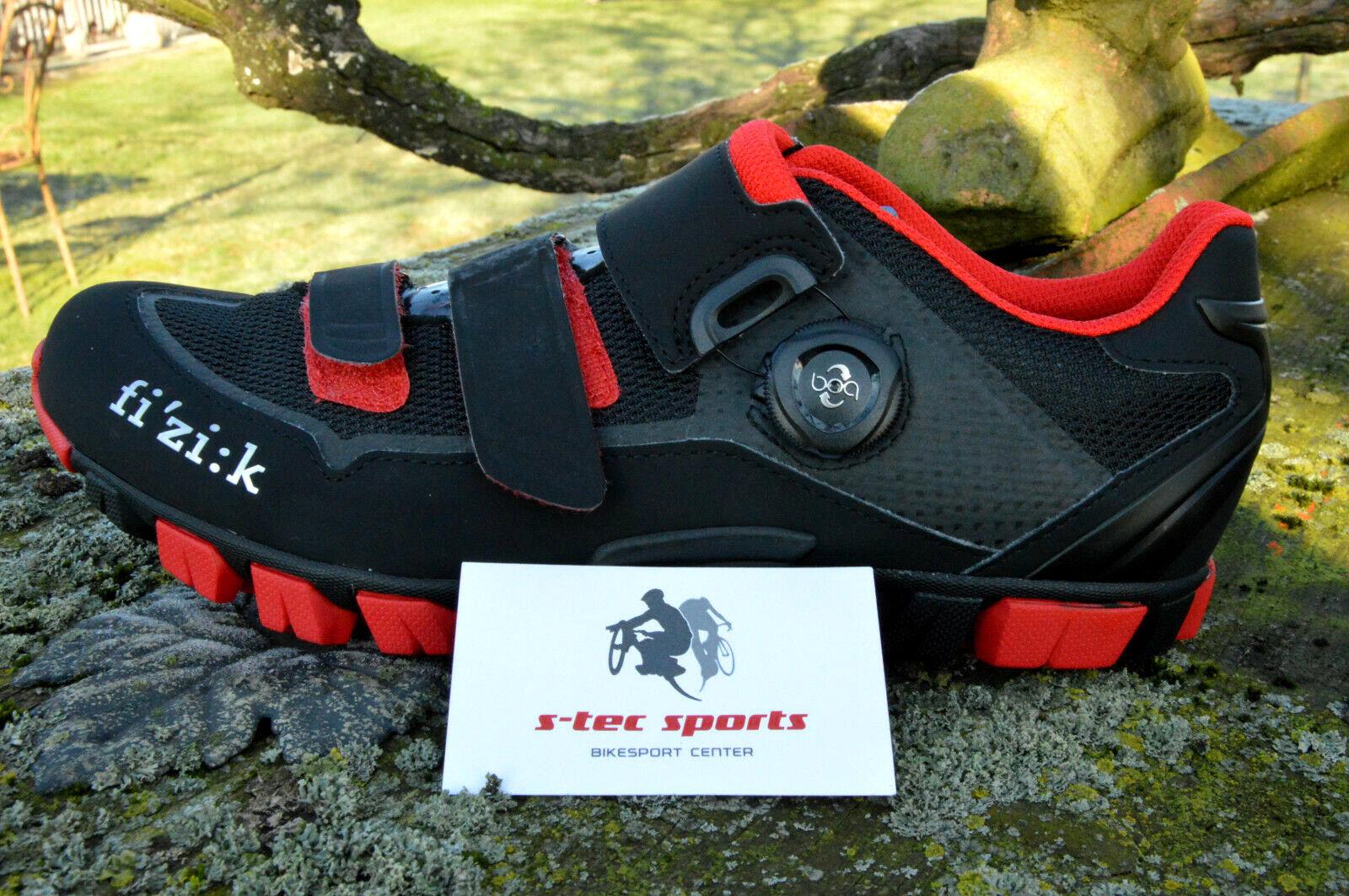 Fizik M6 X-Road Boa MTB   E   Grava Zapatos Agarre Mujer   Hombre