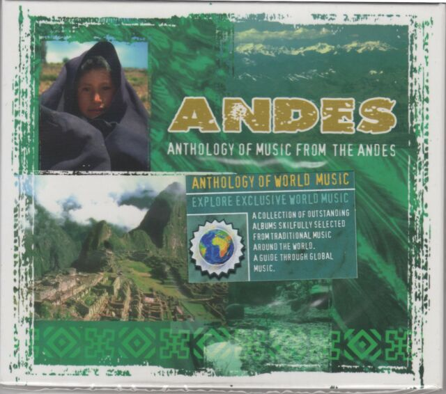 Anthology Of Music From The Andes - NEW & SEALED CD - Posted From The UK