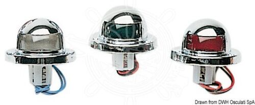 Feu de position Navigationslichter Utility aus verchromtem ABS