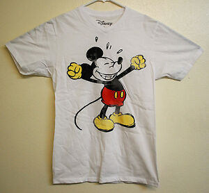 Disney vintage mickey mouse mens womens t shirt size large for Oversized disney t shirts