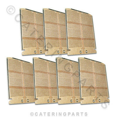 SET OF NEW STYLE HEATING ELEMENTS FOR DUALIT 6 SLICE SIX SLOT COMMERCIAL TOASTER