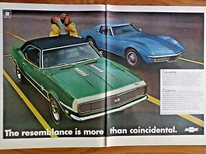 1968-Chevrolet-Camaro-SS-Sport-Coupe-amp-Corvette-Sting-Ray-Coupe-Ad