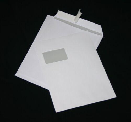 1000 tasche pieghe DIN b4 250 x 353 x 40 mm detenzione stampaggio spedizione Borse Marrone