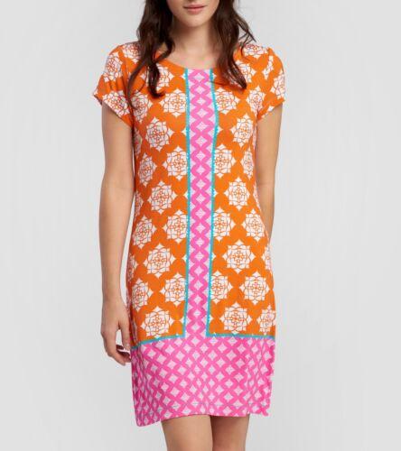 Tropics Maglietta Arancione Vestito Floreale Fiori Wd6trop117 Hatley Droplet Cnxg5Y