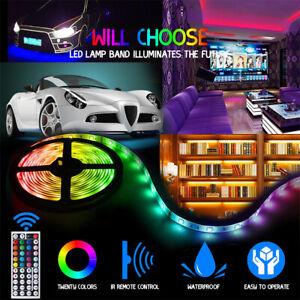 10M ruban à LED 3528 RGB bande de lumiere + Kit Télécommande 44 Touches Étanche
