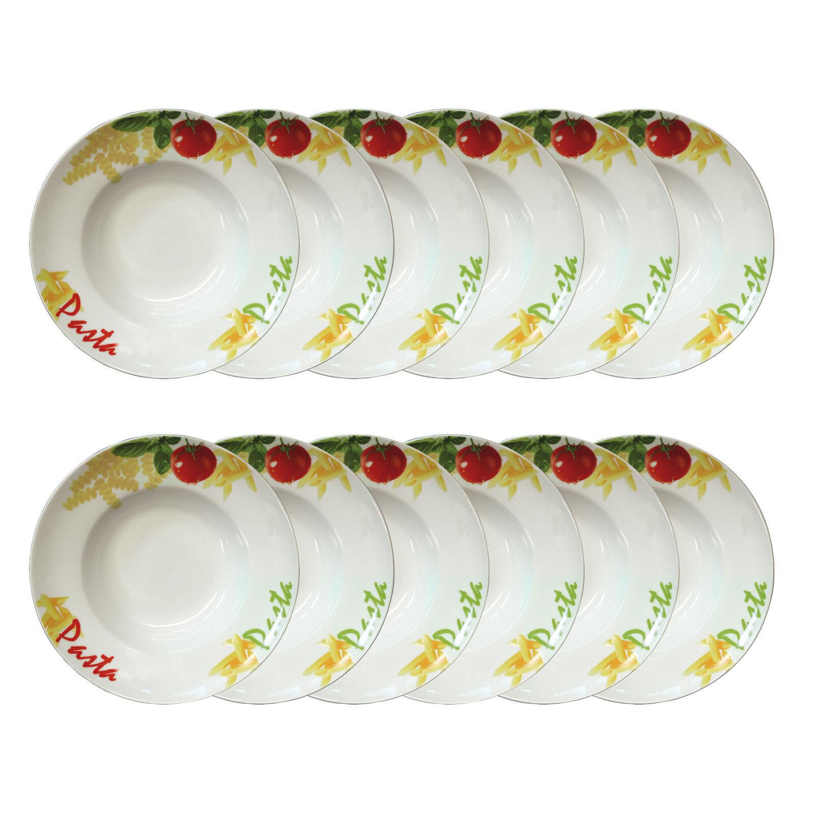 Gastro Pastateller Nudelteller Salatteller 270mm Durchmesser 30er-Set 30 Teller   | Billig ideal