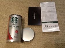 AUTHENTIC Starbucks Battery Power bank Charger 4 Cell Phone Android Apple Iphone
