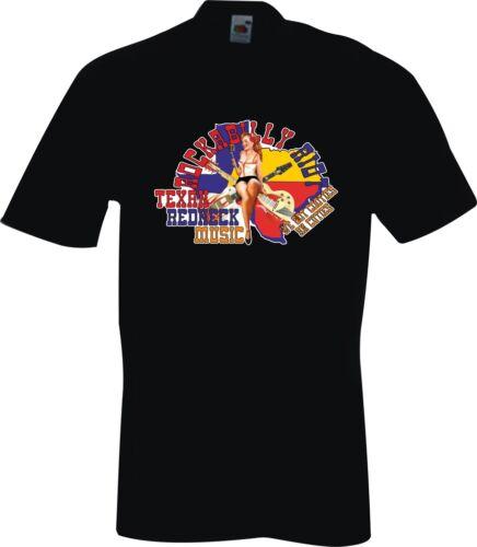 ROCKABILLY RIOT TEXAS REDNECK MUSIC T SHIRTS T-SHIRTS TOPS UK  BLUES ROCK /& ROLL