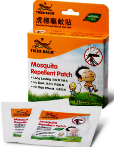 10 BOX TIGER BALM MOSQUITO REPELLENT PATCH 10's