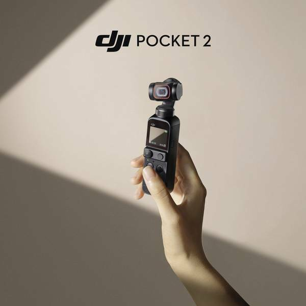 DJI Pocket 2 - 3 Axis Handheld Gimbal Stabilizer with 4K Camera - NEW & SEALED