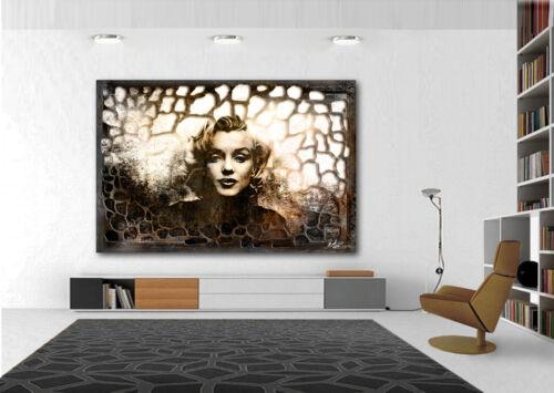 Marilyn Monroe Abstraktes Bilder auf Leinwand Wandbilder Modern XXXL 1721A