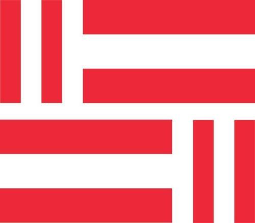 4 x Autocollant sticker voiture moto valise pc autrichien drapeau autriche