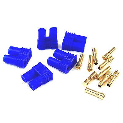 Buchse Goldstecker Connector Male Female Hochstrom 5 Paar 10 Stück EC2 Stecker
