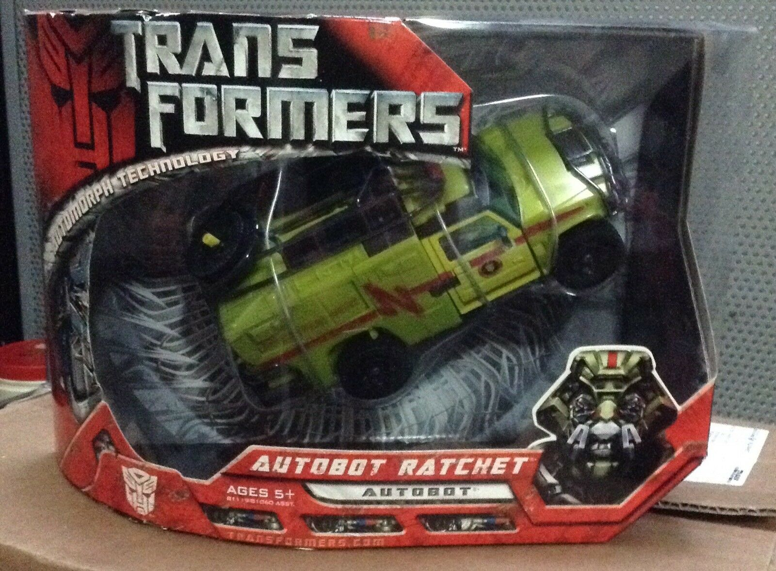Transformers Movie Ratchet Voyager classe