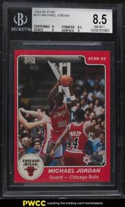 1984-85 Star Basketball Michael Jordan ROOKIE RC #101 BGS 8.5 NM-MT+