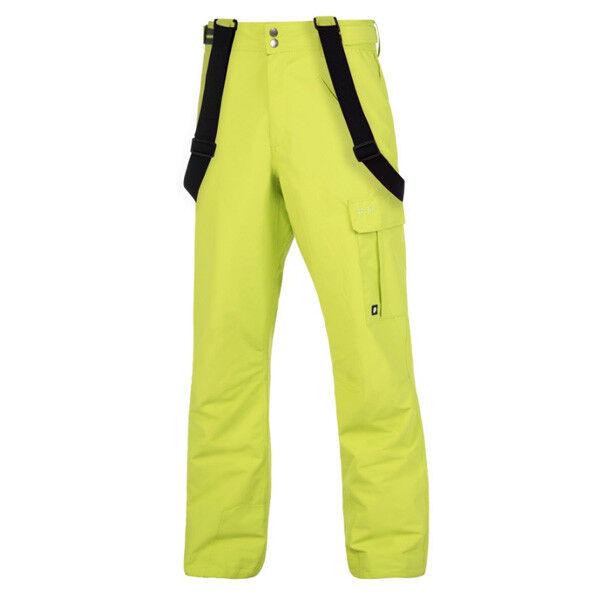 Predest Denysy Lime Ski Snowboard Pant Snowboarding Men's Neon  Yellow Tailgrab
