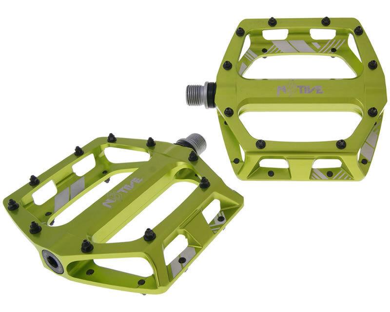 MTB MTB MTB DH XC Enduro 8 tive plana dh Pedal N 105 X 110mm Verde 43de79