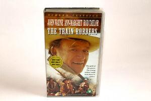 The-Train-Robbers-VHS-Video-John-Wayne-Ann-Margret-VGC-Free-Post