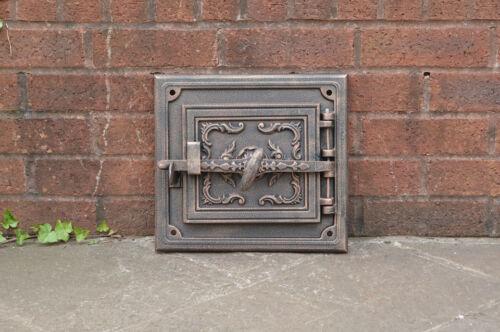 bread oven doors pizza stove fireplace 32.5 x 29.8 cm cast iron fire door clay