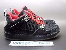Nike Air Jordan Fusion IV 4 AJF Black Laser GS 2010 sz 5.5Y