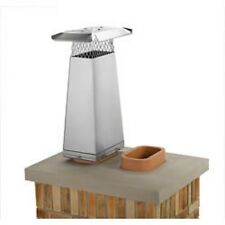 """13132 13"""" x 13"""" Gelco Stainless Steel Flue Stretcher, Adds 1' Height"""
