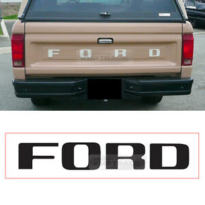 ford logo tailgate decal sticker color mask for ford 1980 1989 ford rh ebay com 1980 ford truck paint colors 1981 Ford Truck