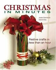 Christmas in Minutes by Josie Cameron & Carol Cox (2003)LPb