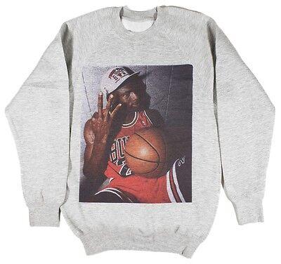 Michael Jordan Sweatshirt Size S-XXL Supreme Basketball Bulls bred NBA hoodie