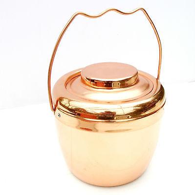 Vintage Retro Copper Ice Bucket