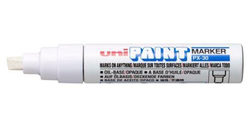 1 pc x Uni Paint marker  PX-30 in WHITE color