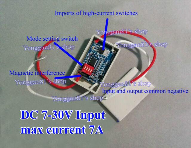 12V-24V LED Brake Stop Light Lamp Flasher Module Flash Strobe Controller 16 Mode