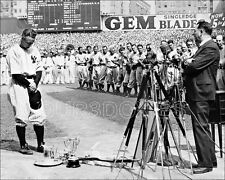 Lou Gehrig Day Photo 8X10 Yankees Luckiest Man Speech 1939  Buy Any 2 Get 1 FREE