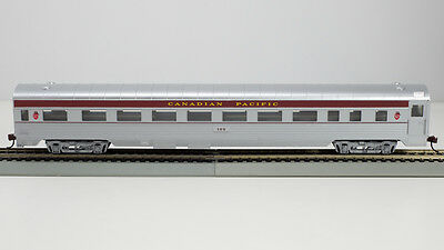 1-709 HO 85Ft Streamline Corrugated Pass Coach Canadian Pacific